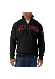 47 Oklahoma Sooners Black Arch 1/4 Zip Fashion Pullover