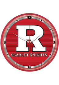 Rutgers Scarlet Knights 12.75in Round Wall Clock