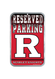 Rutgers Scarlet Knights 11x17 Parking Sign