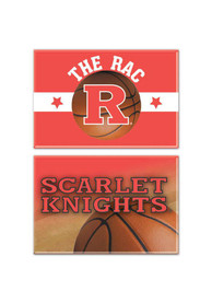 Rutgers Scarlet Knights 2x3 Rectangle Magnet