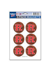 Rutgers Scarlet Knights 6 Pack Magnet