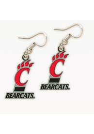 Cincinnati Bearcats Womens Dangle Earrings - Red