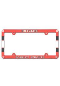 Rutgers Scarlet Knights LP FRAME License Frame