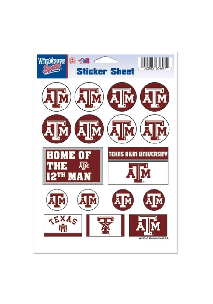 Texas A&M Aggies 5x7 Stickers - Image 1