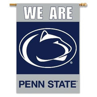 Penn State Nittany Lions 28x40 2 Sided We Are Banner