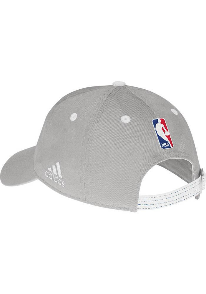 Adidas Oklahoma City Thunder Grey Slouch Womens Adjustable Hat - Image 3