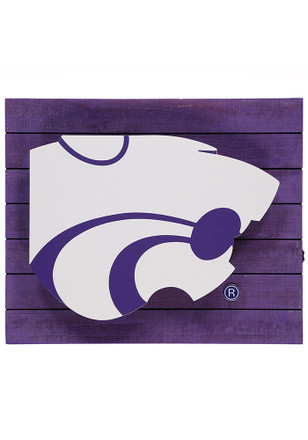 K-State Wildcats Team Logo Sign