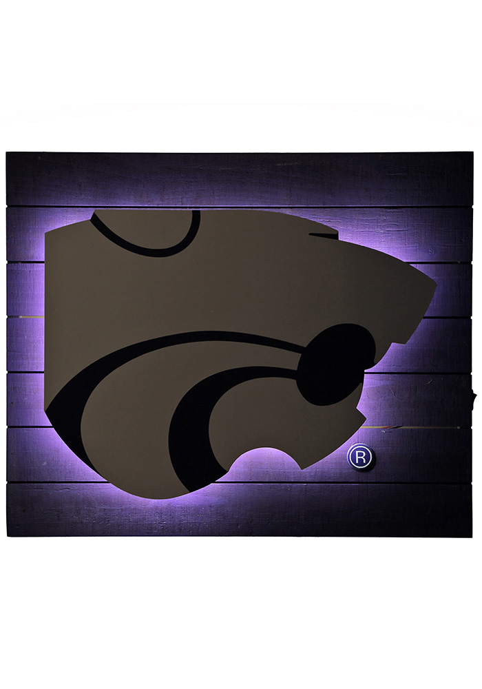 K-State Wildcats Team Logo Sign - Image 2