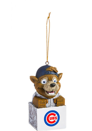 chicago cubs team mascot ornament - Chicago Christmas Ornaments
