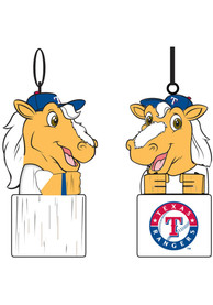 Texas Rangers Team Mascot Ornament