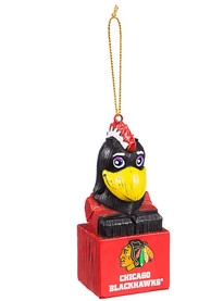Chicago Blackhawks Team Mascot Ornament