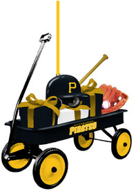 Pittsburgh Pirates Team Gift Wagon Ornament