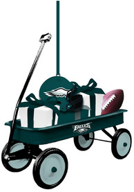 Philadelphia Eagles Team Gift Wagon Ornament