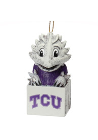 TCU Horned Frogs Team Mascot Ornament