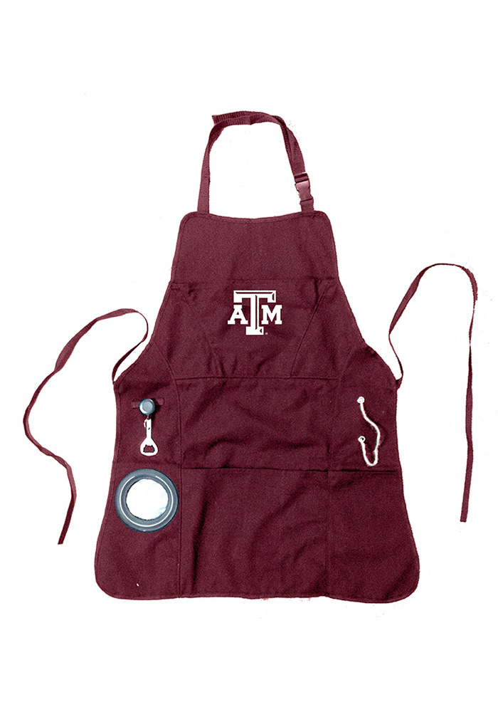 Texas A&M Aggies Grilling BBQ Apron - Image 1