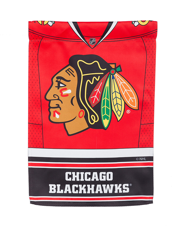Chicago Blackhawks Jersey Garden Flag - Image 3