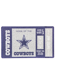 Dallas Cowboys Turf Trapper Door Mat