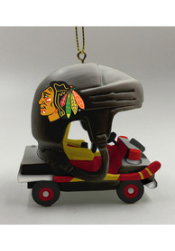 Chicago Blackhawks Cart Ornament