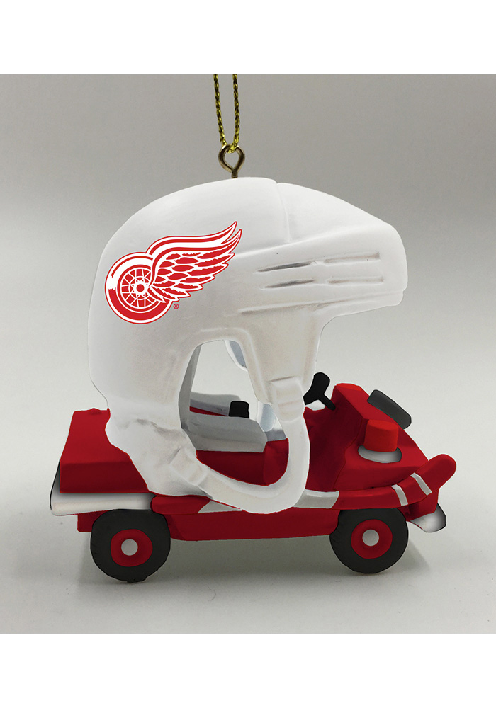Detroit Red Wings Cart Ornament - Image 1