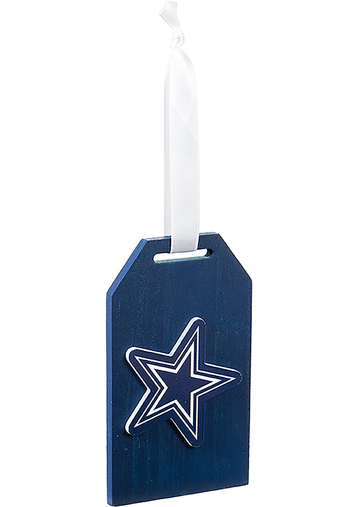 Dallas Cowboys Tag Ornament - Image 1