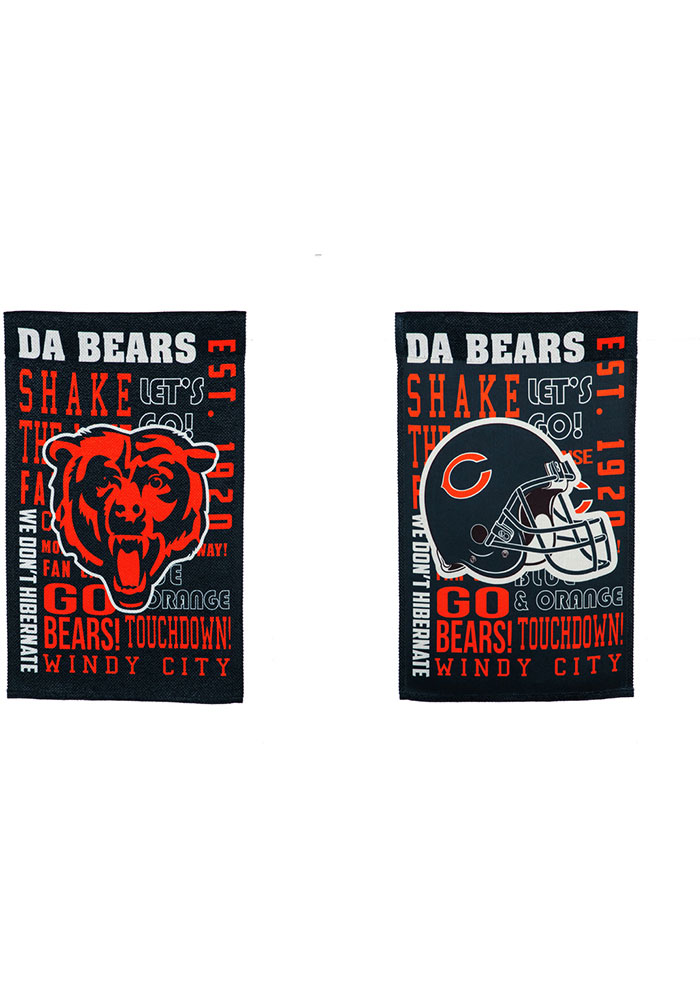 Chicago Bears 12x18 inch Fan Favorite Garden Flag - Image 1