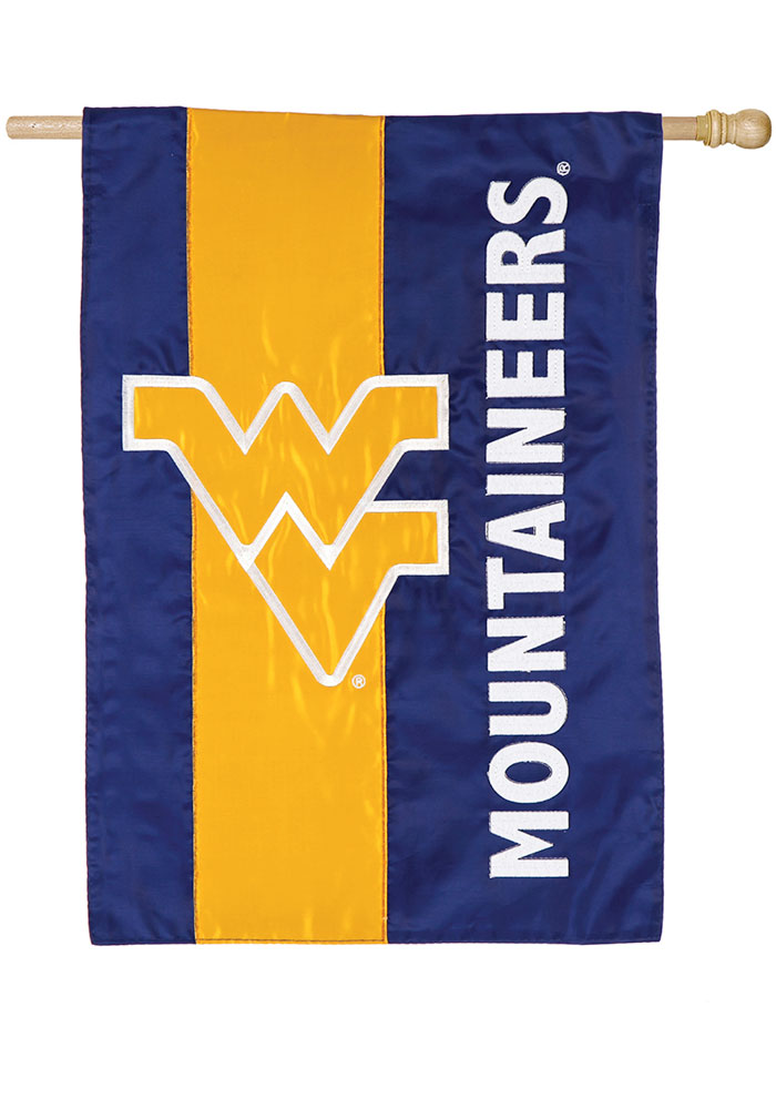 West Virginia Mountaineers Mixed Material Banner - Image 1