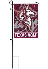 Texas A&M Aggies Justin Patten Garden Flag