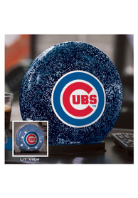 Chicago Cubs LED Glass Disk Light Desk Accessory