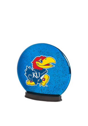 Kansas Jayhawks LED Glass Disk Light Desk Accessory