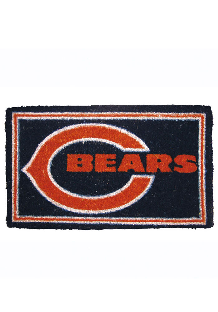 Chicago Bears Welcome Door Mat - Image 1