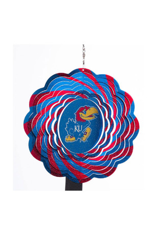 Kansas Jayhawks Spectrum Wind Spinner