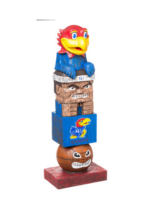 Kansas Jayhawks Team Totem Gnome