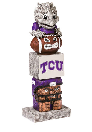 TCU Horned Frogs Team Totem Gnome