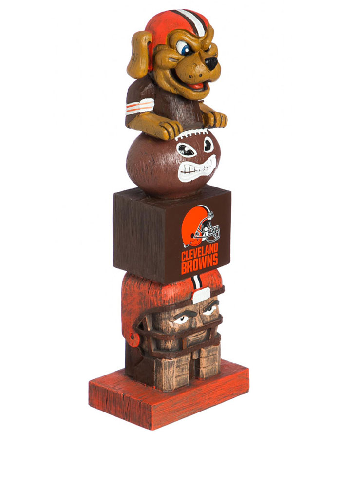 Cleveland Browns Team Totem Gnome - Image 1