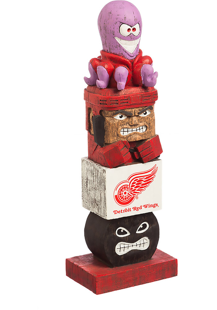 Detroit Red Wings Team Totem Gnome - Image 1