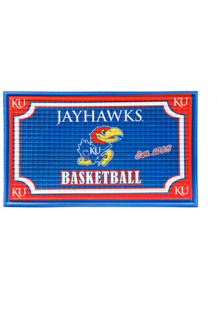 Kansas Jayhawks Embossed Door Mat