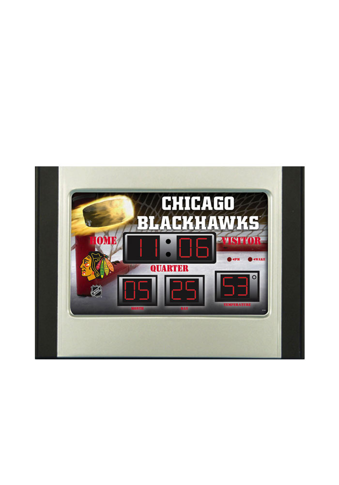 Chicago Blackhawks Scoreboard Alarm Clock - Image 1