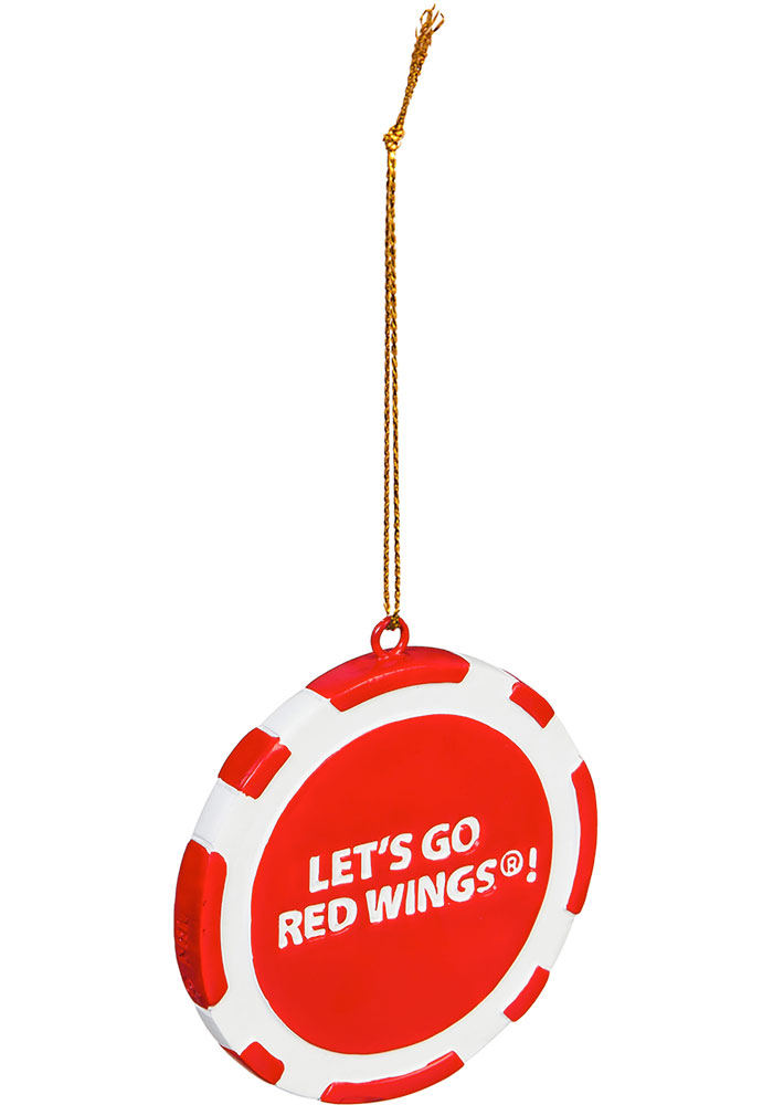 Detroit Red Wings Poker Chip Ornament - Image 2