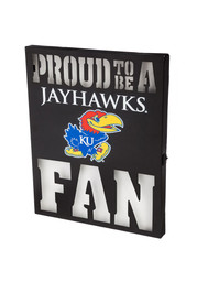 Kansas Jayhawks LED Metal Neon Sign