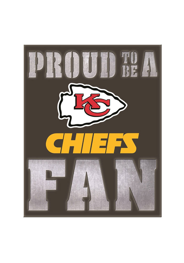 Kansas City Chiefs LED Metal Neon Sign - Image 1