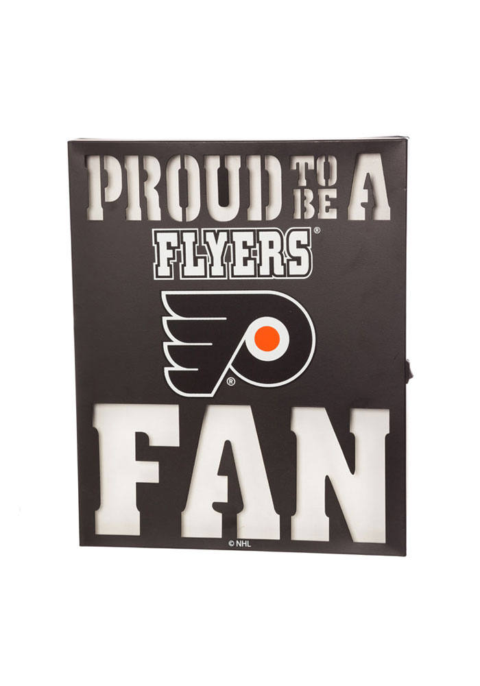 Philadelphia Flyers LED Metal Neon Sign - Image 1
