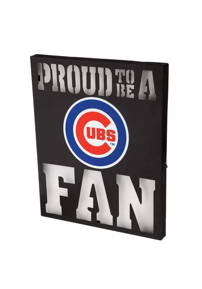Chicago Cubs LED Metal Neon Sign - Image 1