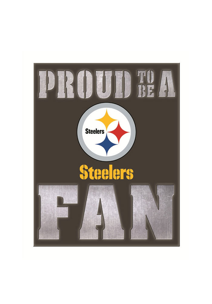 Pittsburgh Steelers LED Metal Neon Sign - Image 1