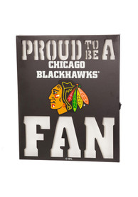 Chicago Blackhawks LED Metal Neon Sign