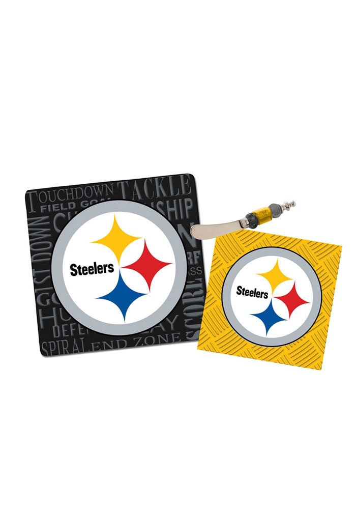 Wonderful Kitchen Accessories · Pittsburgh Steelers Itu0027s A Party Gift Set Trivet