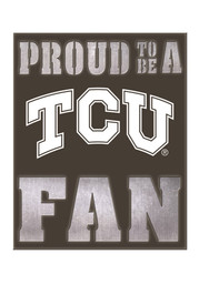 TCU Horned Frogs LED Metal Neon Sign