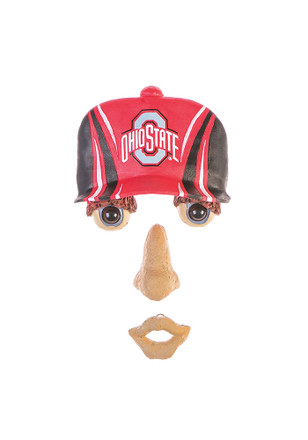 Ohio State Buckeyes Team Logo Forest Face