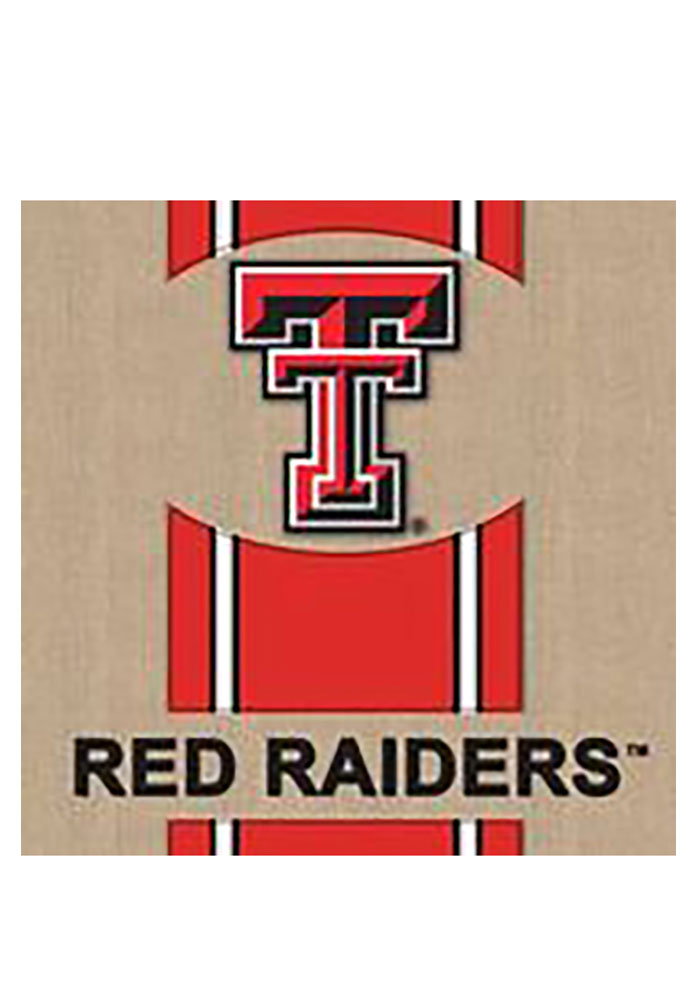 Texas Tech Red Raiders 29x43 Team Burlap Banner - Image 1