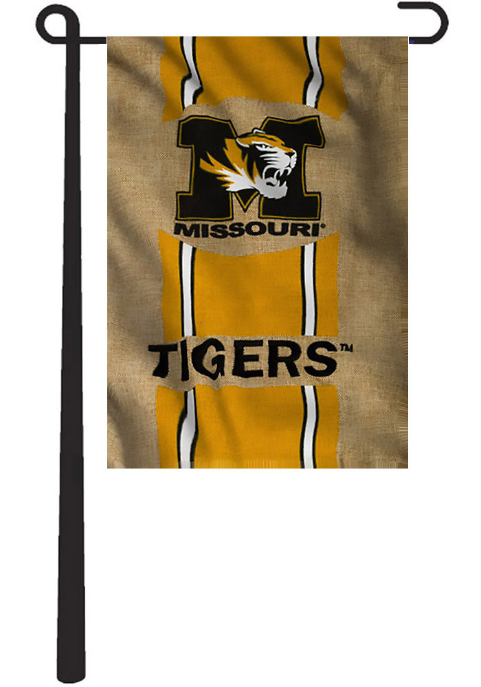Missouri Tigers 12.5x18 Team Burlap Garden Flag - Image 1