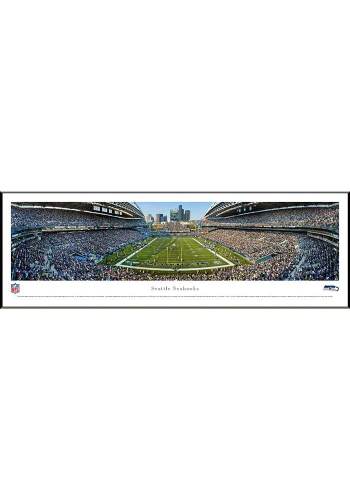 Seattle Seahawks Football Panorama Framed Posters - Image 1